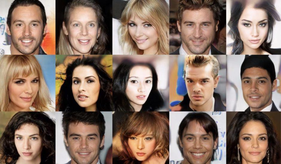 exemples de faux visages