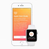 Aperçu de l'application Apple Heart Study