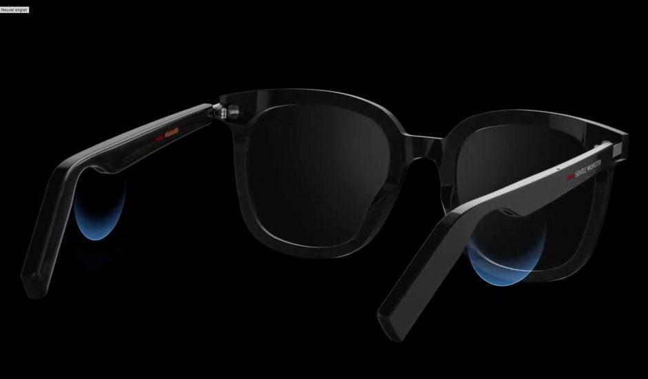 Les lunettes connectées Gentle Monster Eyerwear de Huawei