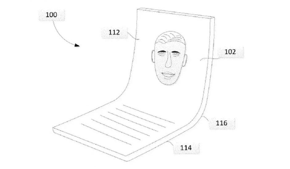 Google brevette un écran pliable
