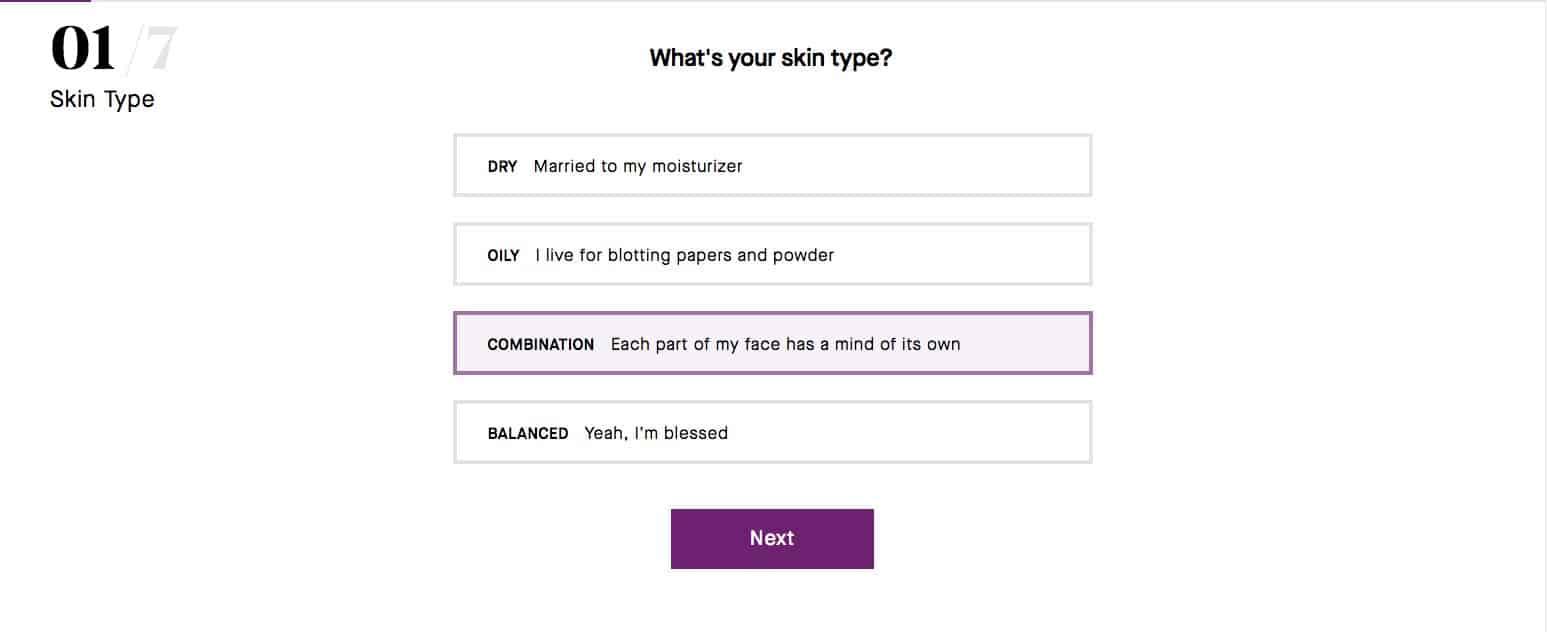 Powermatch vous permet de trouver le fond de teint le plus adapté à votre visage