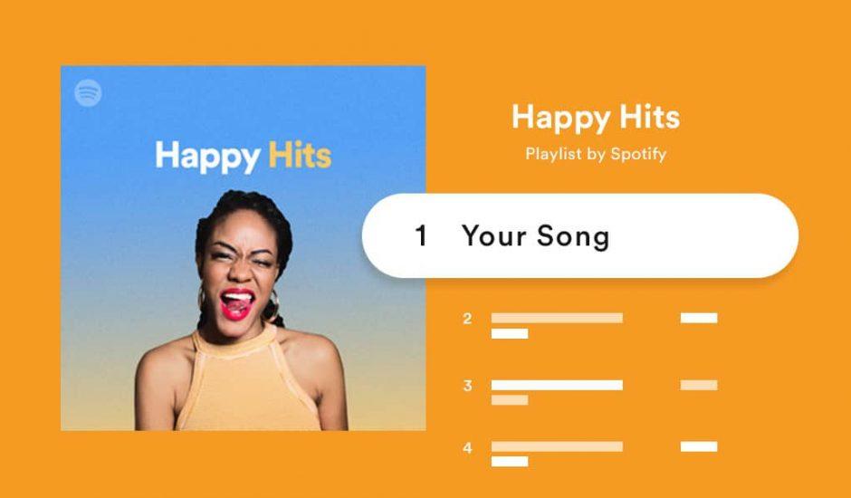 Spotify personnalise encore plus ses playlists