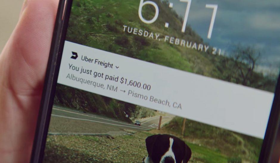 Uber Freight débarque en Europe