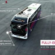 Le bus autonome grande capacité que Volvo s'apprête à tester à Singapour