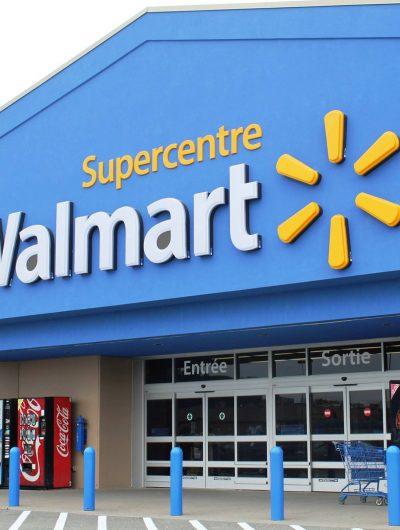 Walmart - une photo d'une boutique de l'enseigne