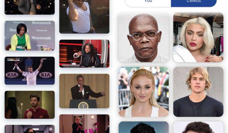 L'application mobile Morphin vous permet d'intégrer votre visage ou celui de célébrités sur des GIFs connus.