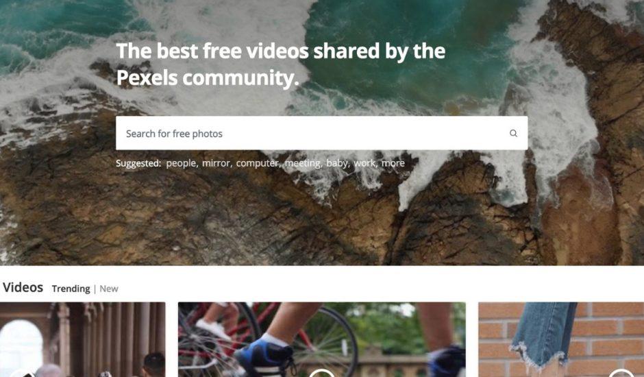 plusieurs vidéos libres de droit