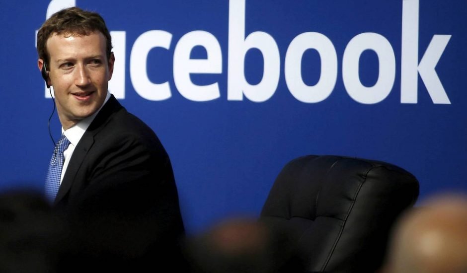 Patron de Facebook Mark Zuckerberg