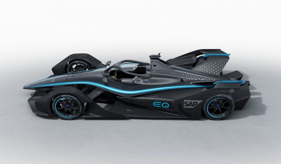 La première mercedes 100 % électrique pourra concourir en Formule E.