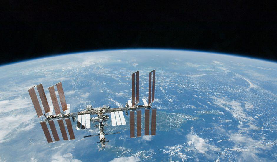 L'ISS serait remplie de bactéries.