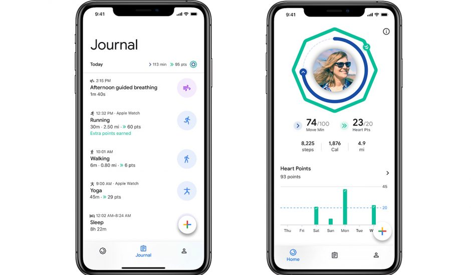 Google Fit disponible dans l'App Store