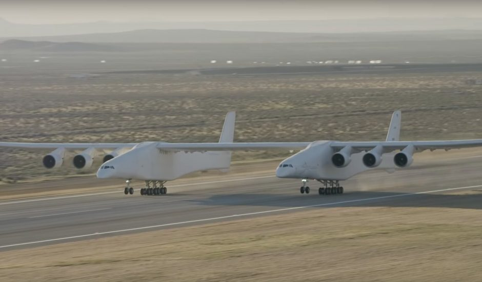 La plateforme volante de lancement spatial Stratolaunch a réussi son premier avec succès