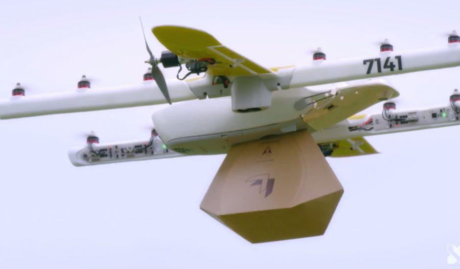 Wing drone livraison