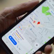 aperçu de l'application Google Maps