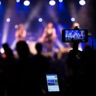 stream durant un concert