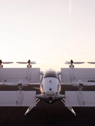 Airbus dévoile les photos de son taxi volant.