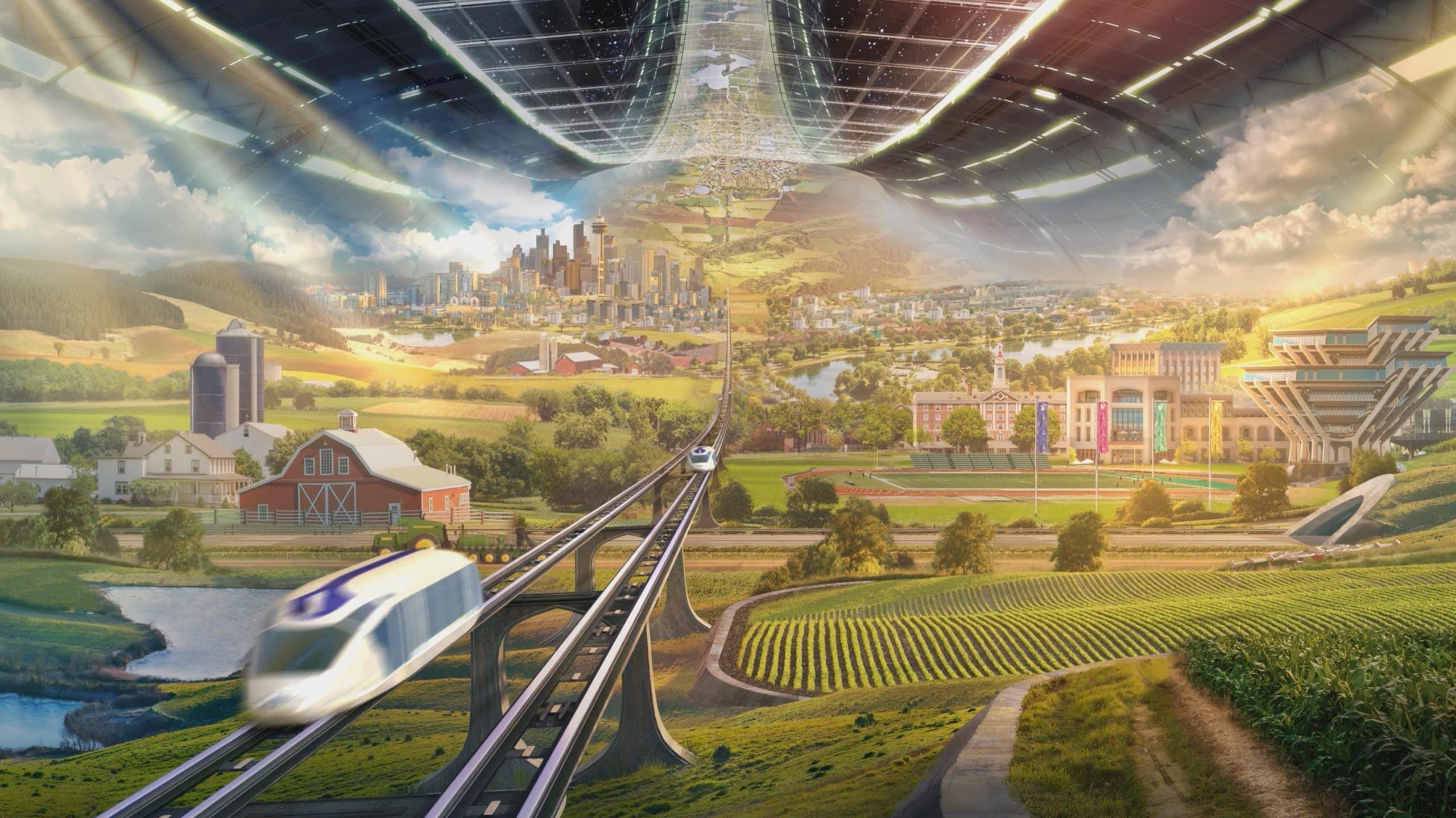 Bezos veut créer des colonies spatiales.