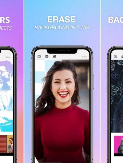 BG App une application pour détourner facilement ses images