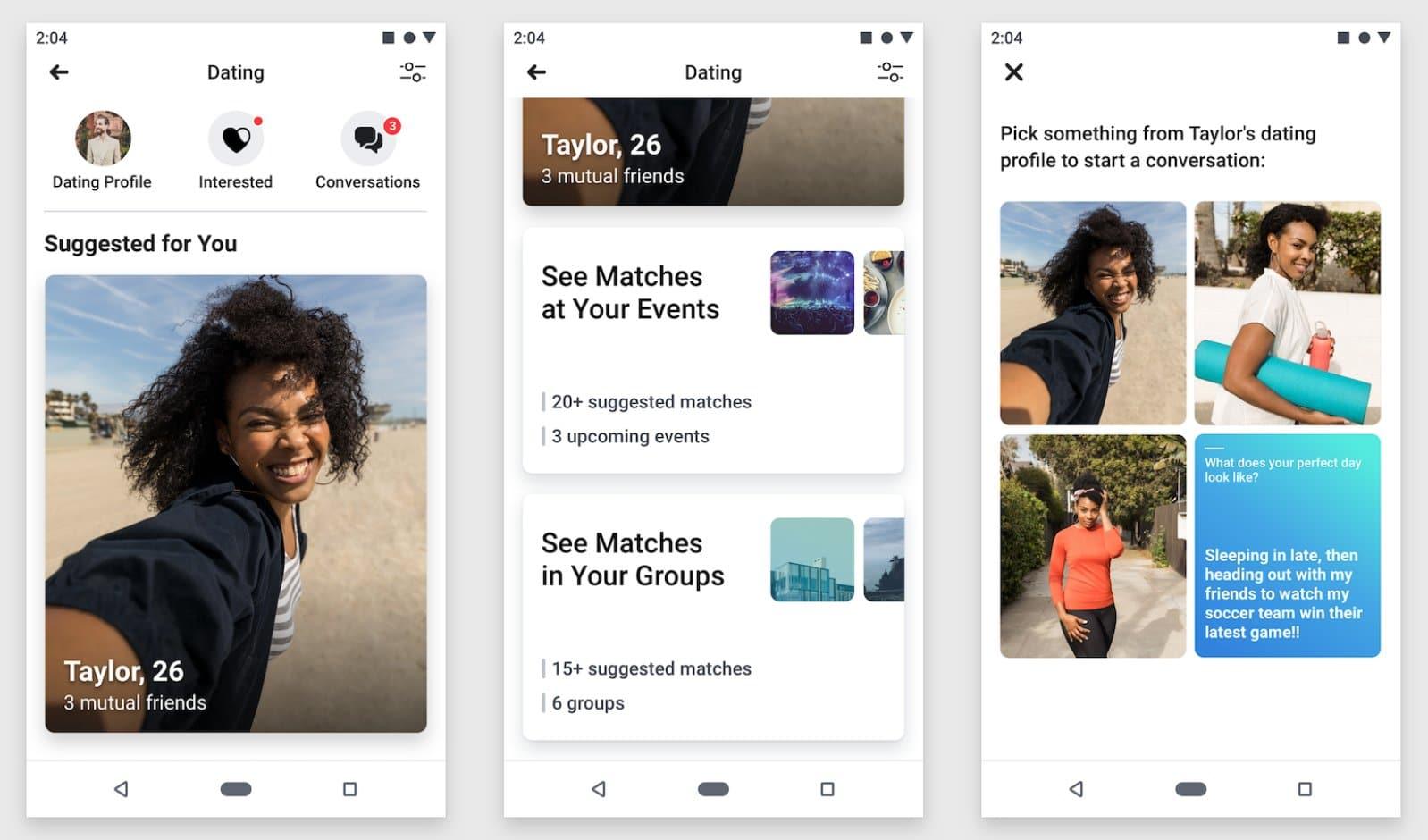 Facebook teste Sparked, une application de rencontre et de speed dating en vidéo