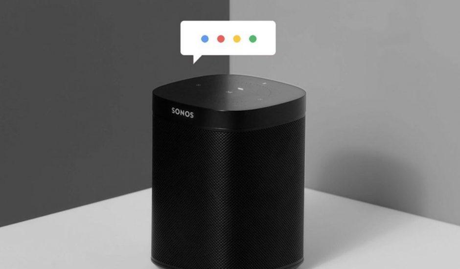 Google Assistant intégré à Sonos