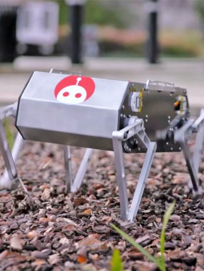 Doggo, le robot-chien à fabriquer soi-même