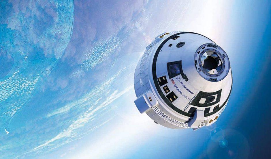 Starliner par Boeing en phase de test