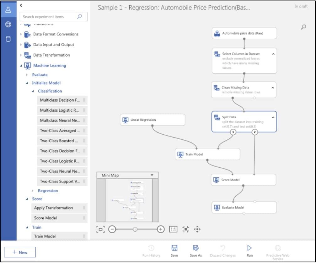 Microsoft lance une nouvelle interface pour le machine learning.