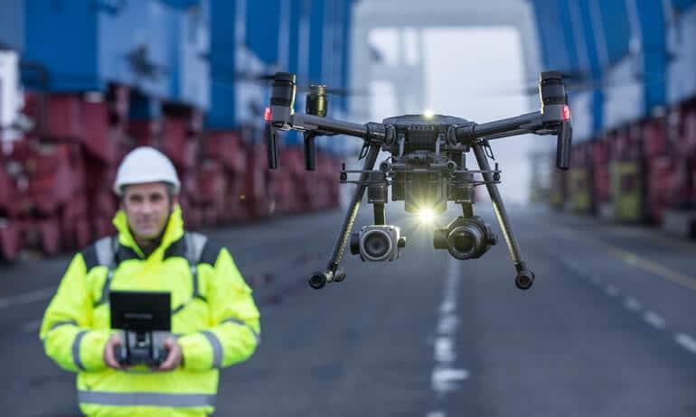 Les drones DJI vont pouvoir détecter les avions.