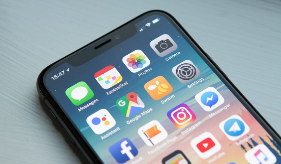 Publicités via des notifications avec Apple