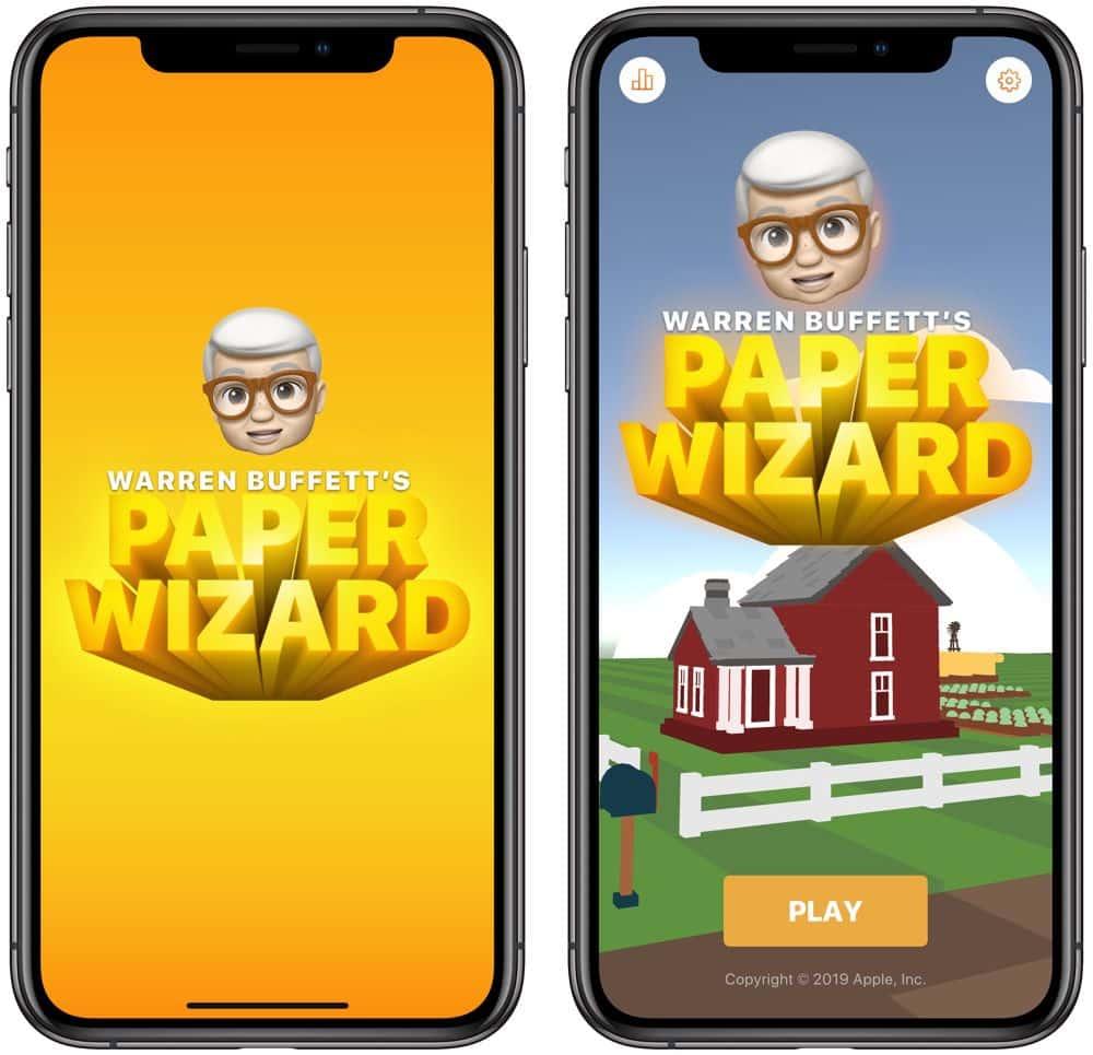 Apple créé un jeu à l'effigie de Warren Buffet.