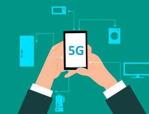 logo 5G sur un smartphone