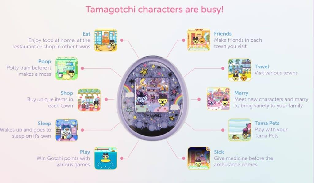 Bandai annonce le grand retour des tamagotchi