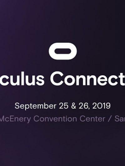L'oculus Connect 6 se tiendra en septembre prochain.