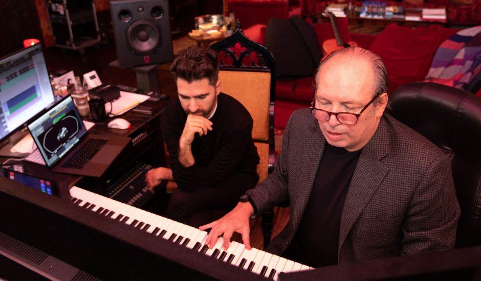 Hans Zimmer et Renzo Vitale à l'oeuvre