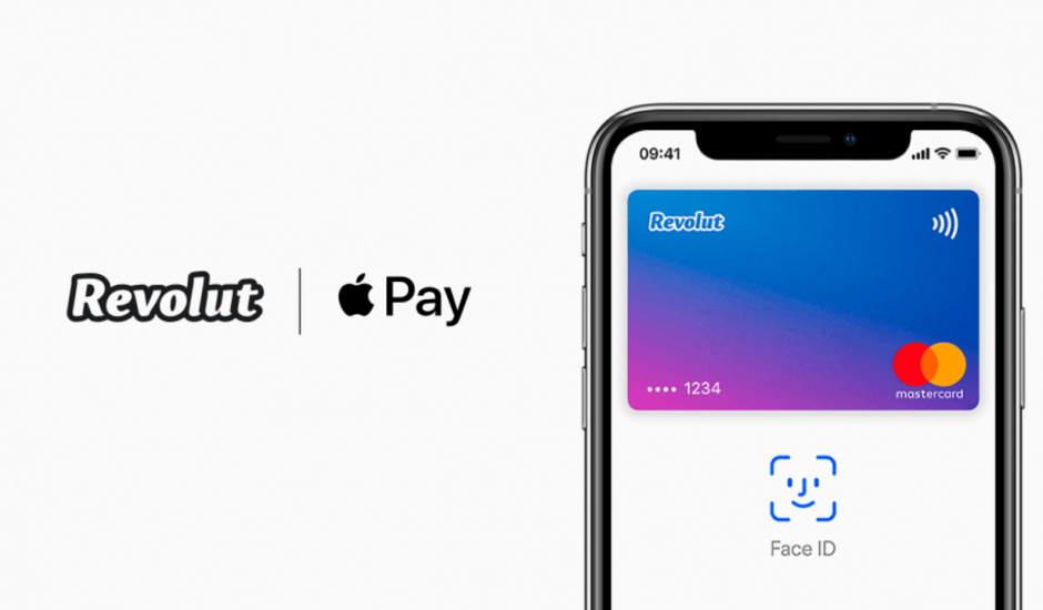 Revolut ajoute Apple Pay.