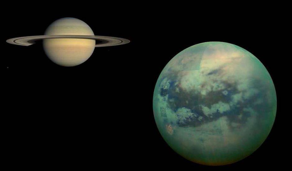 Titan la lune de Saturne