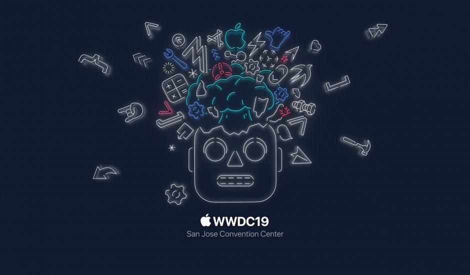 illustration WWDC19 événement Apple