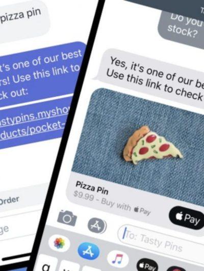 Apple lance une messagerie sur Shopify.