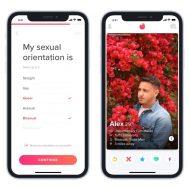 Tinder permet enfin aux personnes LGBTQ+ de préciser leur orientation.