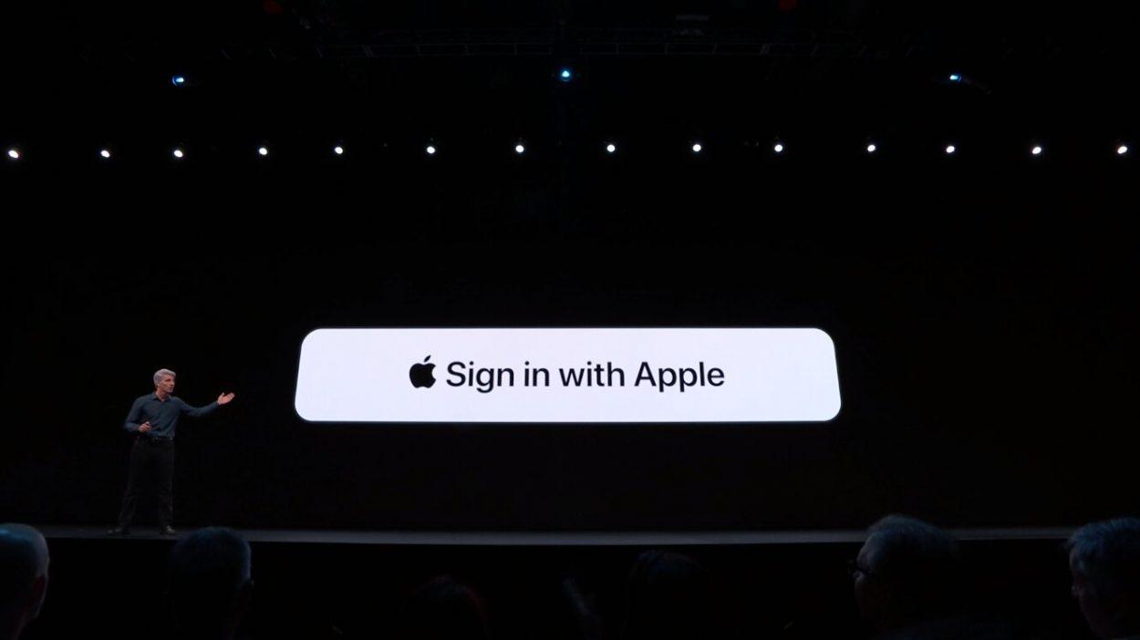 S'inscrire avec Apple un gros pied de nez à Google et Facebook.