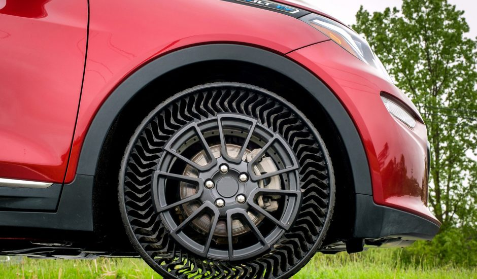 Une nouvelle génération de pneus sans air.