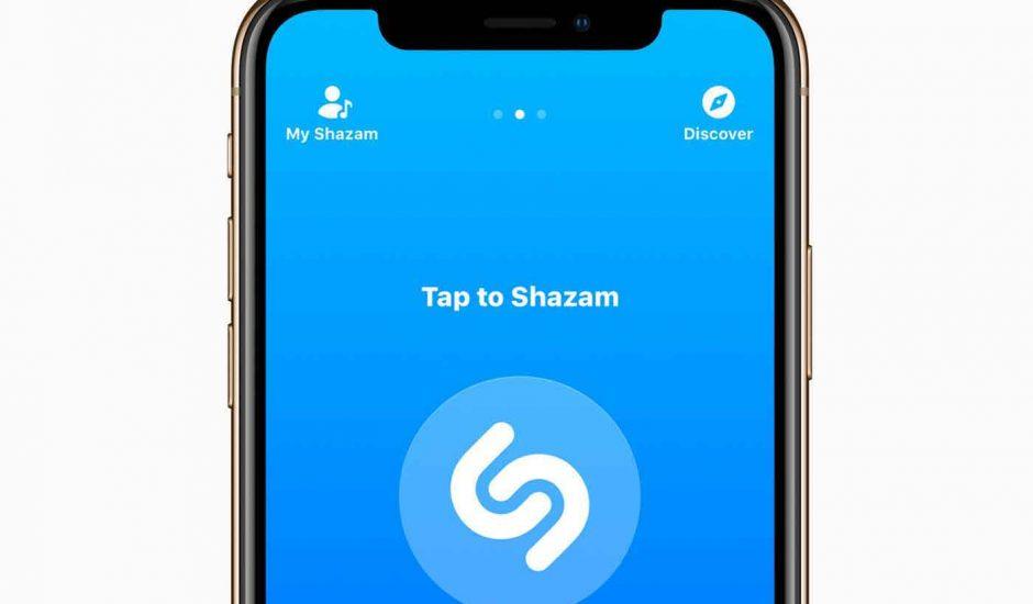 shazam pop up Android