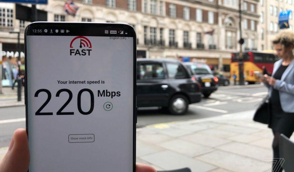 La 5G fonctionne au Royaume-Uni.