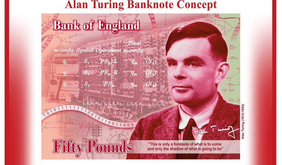 Alan Turing billet 50 livres