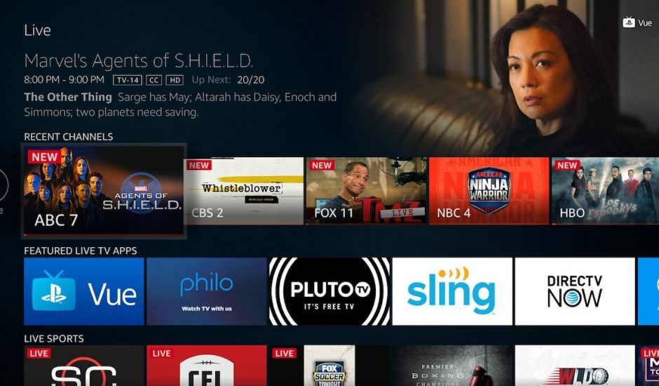 Amazon Fire TV LIVE