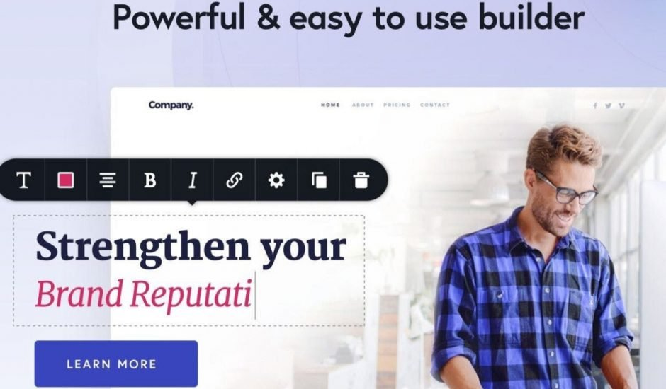 outil landing page brizy