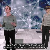 Microsoft peut produire des hologrammes s'exprimant dans une autre langue que leur modèle