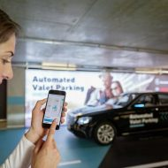 Bosch Daimler parking automatique