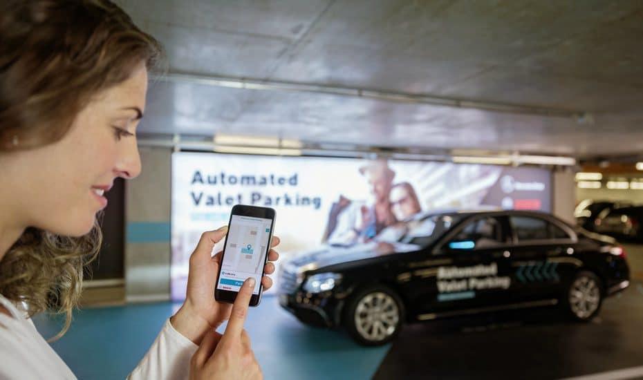 Bosch Daimler parking automatique