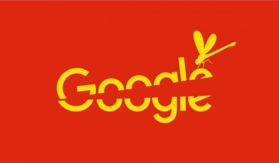 illustration du projet Dragonfly de Google